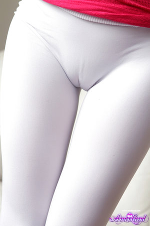 Teen Spandex Pussy